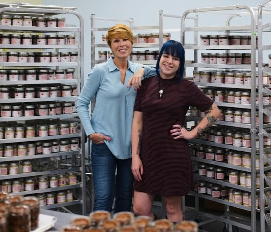 Tracey and Dani - Founders of Wicked Good Cupcakes