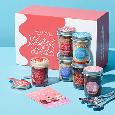 Buy and Ship Gluten Free Cupcakes in Jars Wicked Good Cupcakes