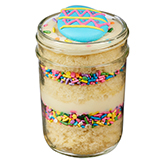Easter Reverse Vanilla Birthday  Cupcake - 8oz Jar