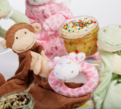Welcome Baby Cupcakes in Jars As Seen on ABC's Shark Tank