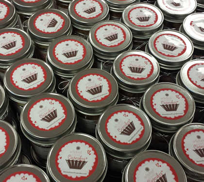 Cupcakes in Jars As Seen on ABC's Shark Tank